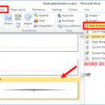 Cách đánh số trang trong word 2010 bỏ trang đầu tiên nhanh nhất