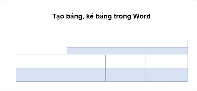 cách tạo khung trong word 2010