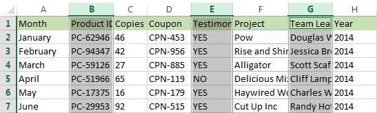 Hướng dẫn cách chèn thêm cột trong Excel đơn giản nhất