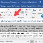 Hướng dẫn cách chỉnh khoảng cách chữ trong Word