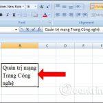 Hướng dẫn một số cách xuống dòng trong ô Excel hiệu quả