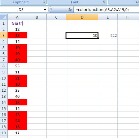 Sắp xếp cách tô màu có điều kiện trong Excel giúp người soạn thảo dữ liệu tránh bị rối mắt