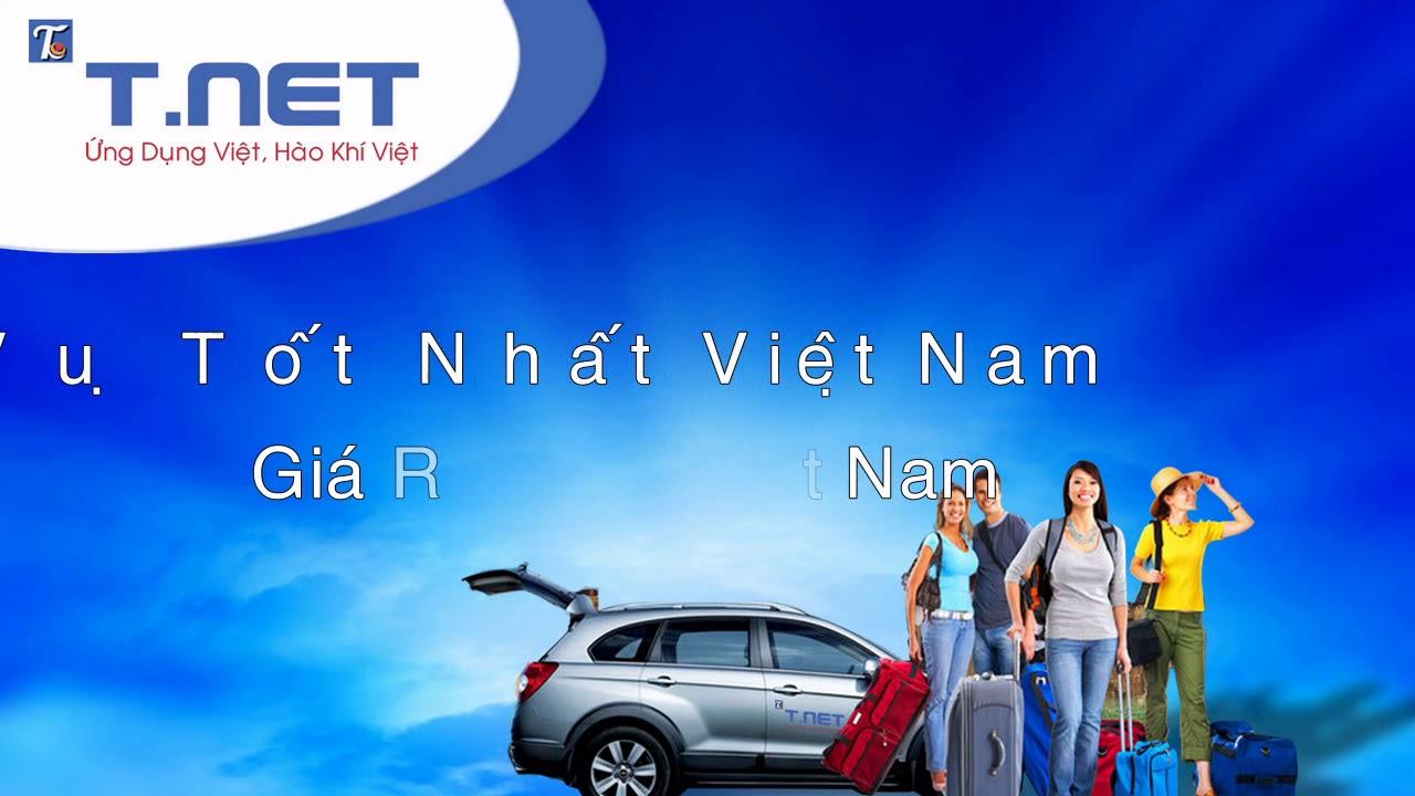 Ứng dụng đặt xe T.NET