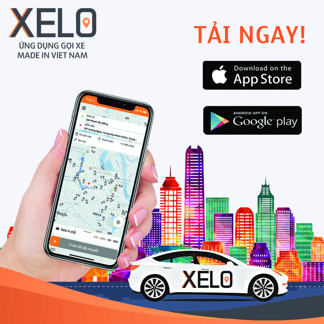Xelo - Ứng Dụng Đặt Xe Tại Việt Nam